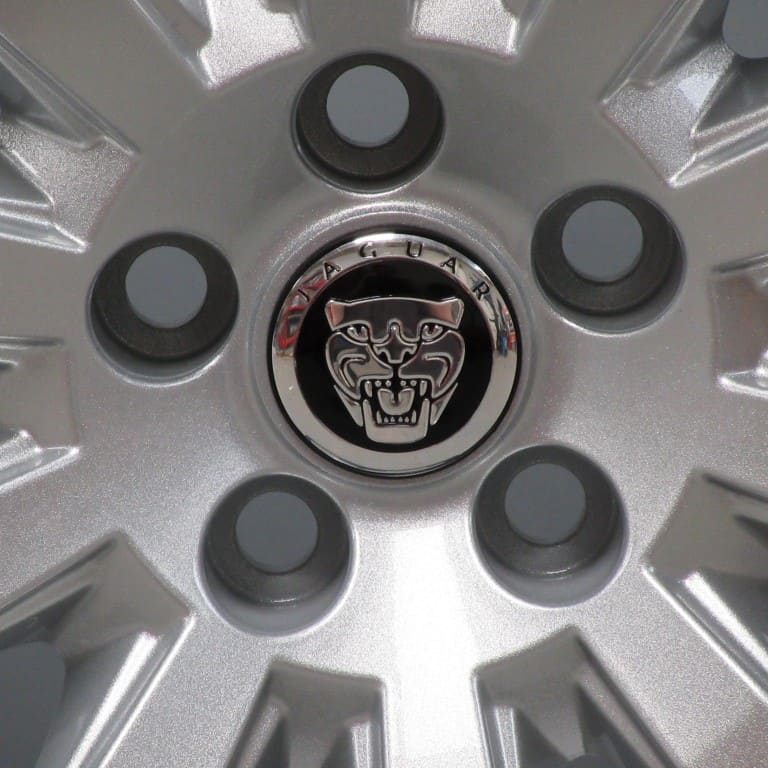 """JAGUAR XJ XK Carelia 10 Spoke 19"""" Silver Alloy Wheel"""