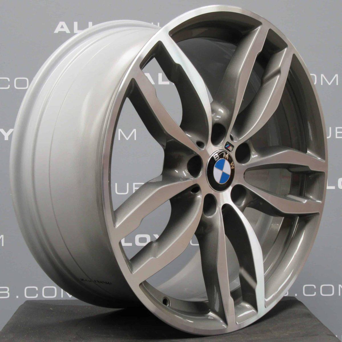 BMW X3/X4 F25/F26 Style 622M Grey/Polished 19″ 5 Twin Spoke Alloy Wheel