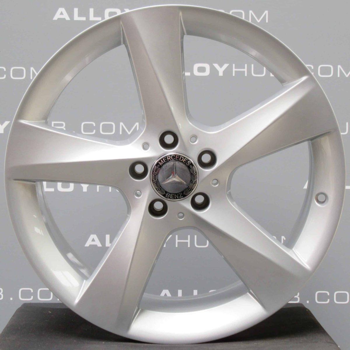 "Genuine Mercedes-Benz ML GLE W166 19"" inch 5 Spoke Alloy Wheels with Silver Finish A1664010202"