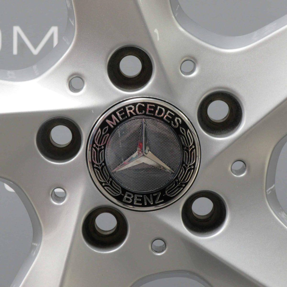 """MERCEDES-BENZ ML GLE W166 19"""" 5 Spoke Silver Alloy Wheel"""