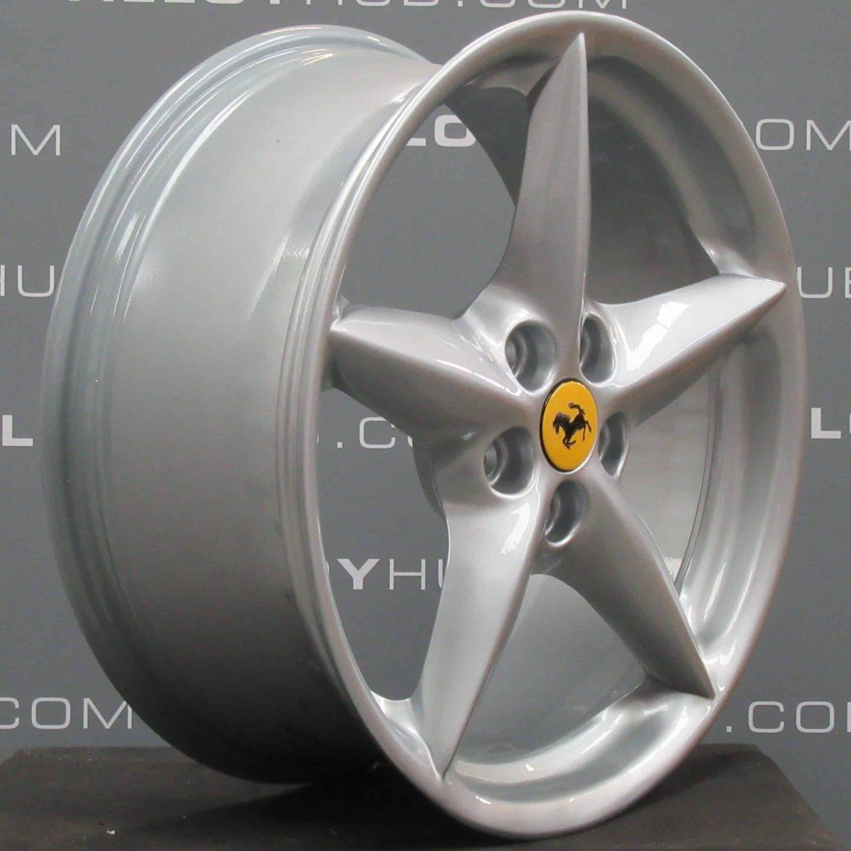 "Ferrari 360 Modena/Spider BBS 5 Star Spoke Silver 18"" Alloy Wheel"