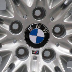 """BMW 5 Series E60/E61 135M MV2 18"""" 10 Spoke Silver Alloy Wheel"""