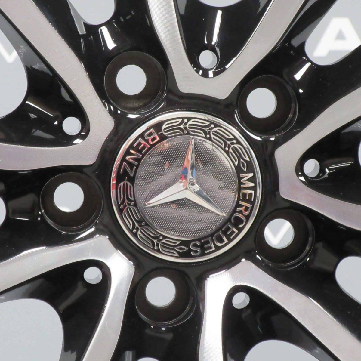 "Mercedes-Benz B Class W246 Sport 18"" Black/Polished Alloy Wheel"
