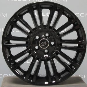"""Genuine Land Rover Range Rover Evoque L538 19"""" inch Style 1002 Alloy Wheels with Gloss Black Finish LR048428"""