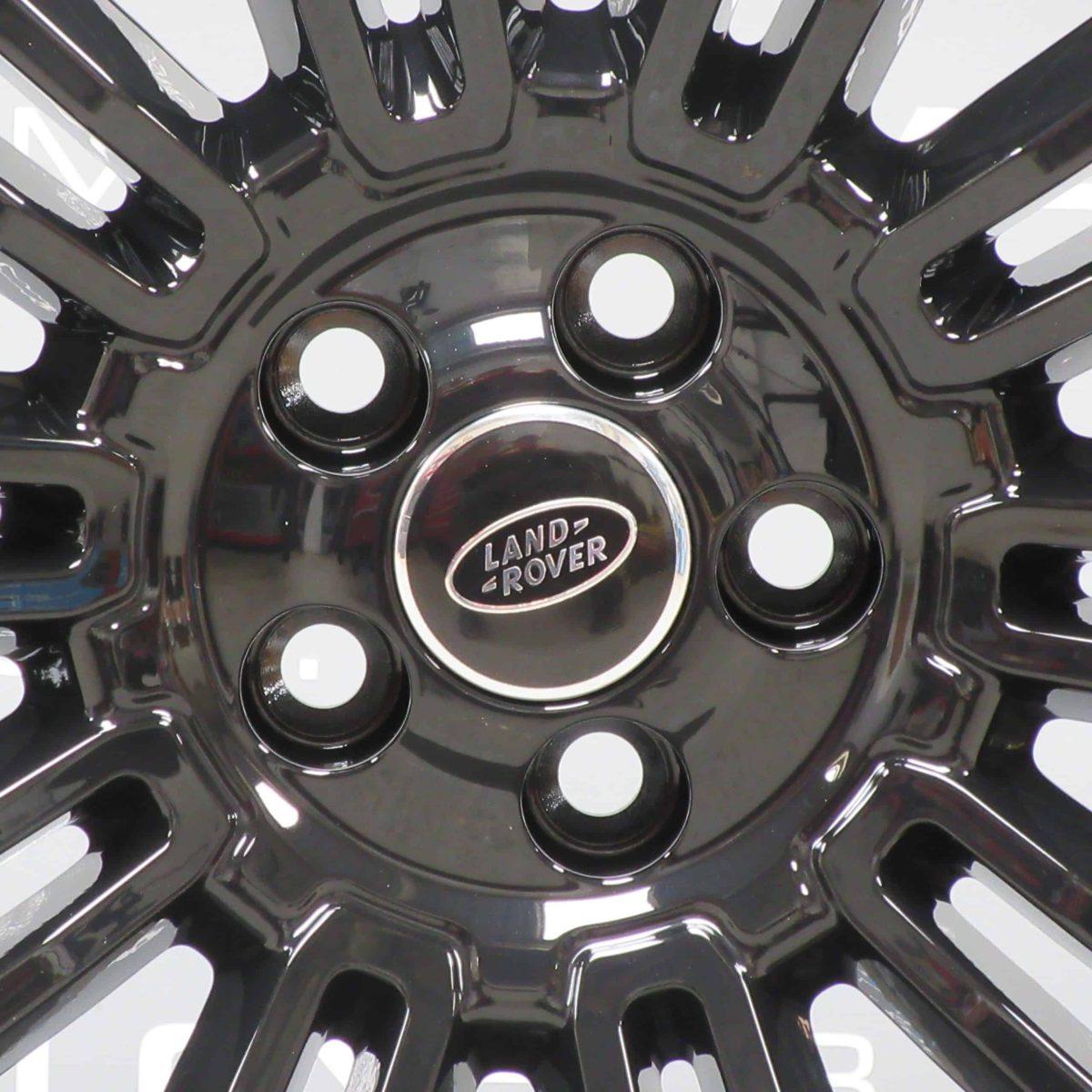 "Range Rover Evoque 19"" 10 Twin Spoke Gloss Black Alloy Wheel"