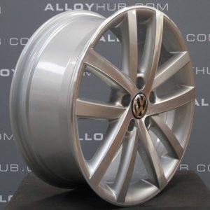 Volkswagen Golf MK6 Vancouver 5 Twin Spoke 18″ Silver/Diamond Turned Alloy Wheel
