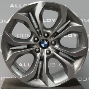 Genuine BMW X6 E71 E72 336 M Sport Performance 20″ inch Alloy Wheels with Grey & Diamond Turned Finish Finish 36116788010 36116796152