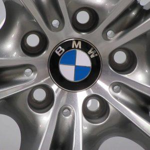 "BMW X6 E71 E72 336 M Sport Performance 20"" Grey/Diamond Turned Alloy Wheel"