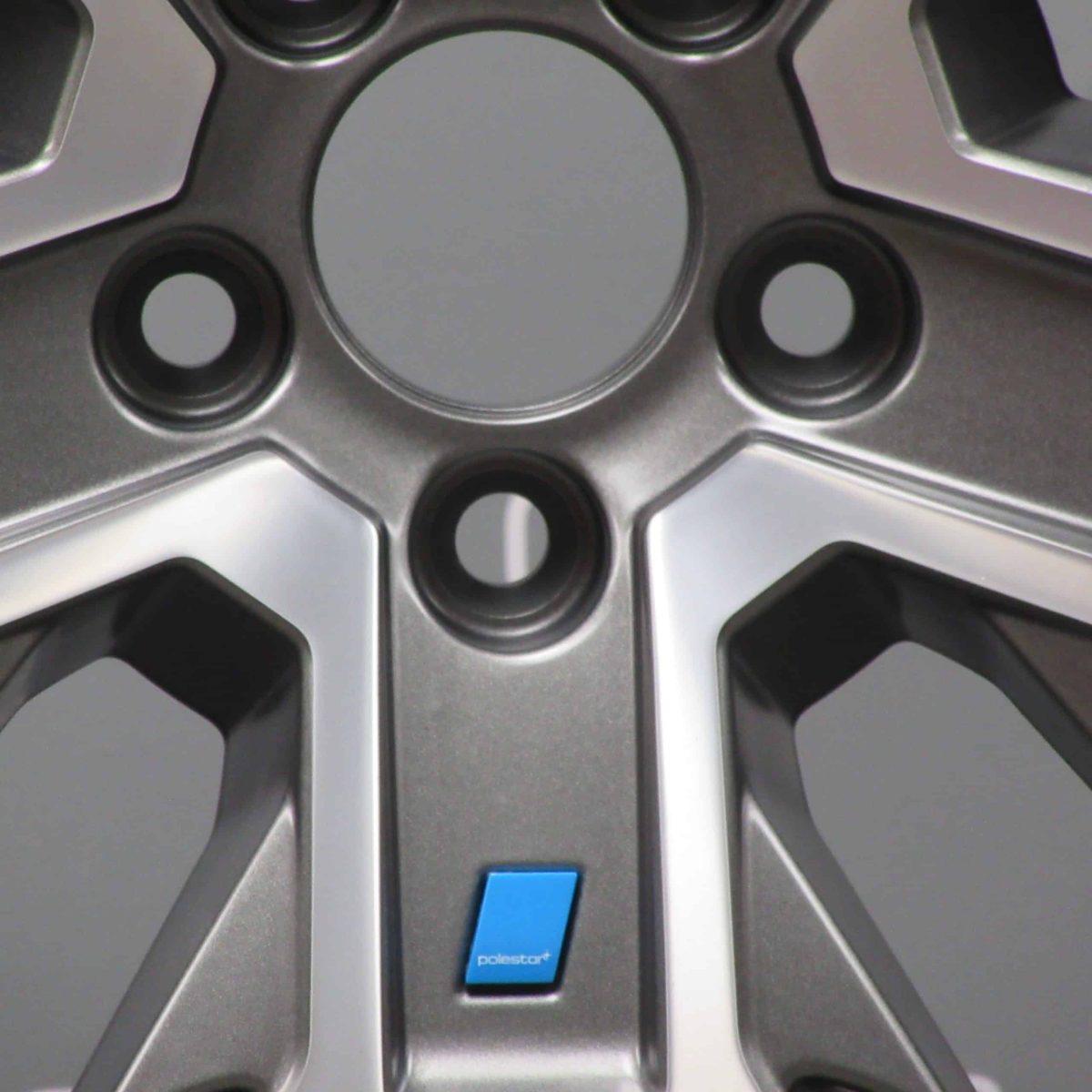 "Volvo XC60 Polestar 21"" Grey / Diamond Turned Alloy Wheel"