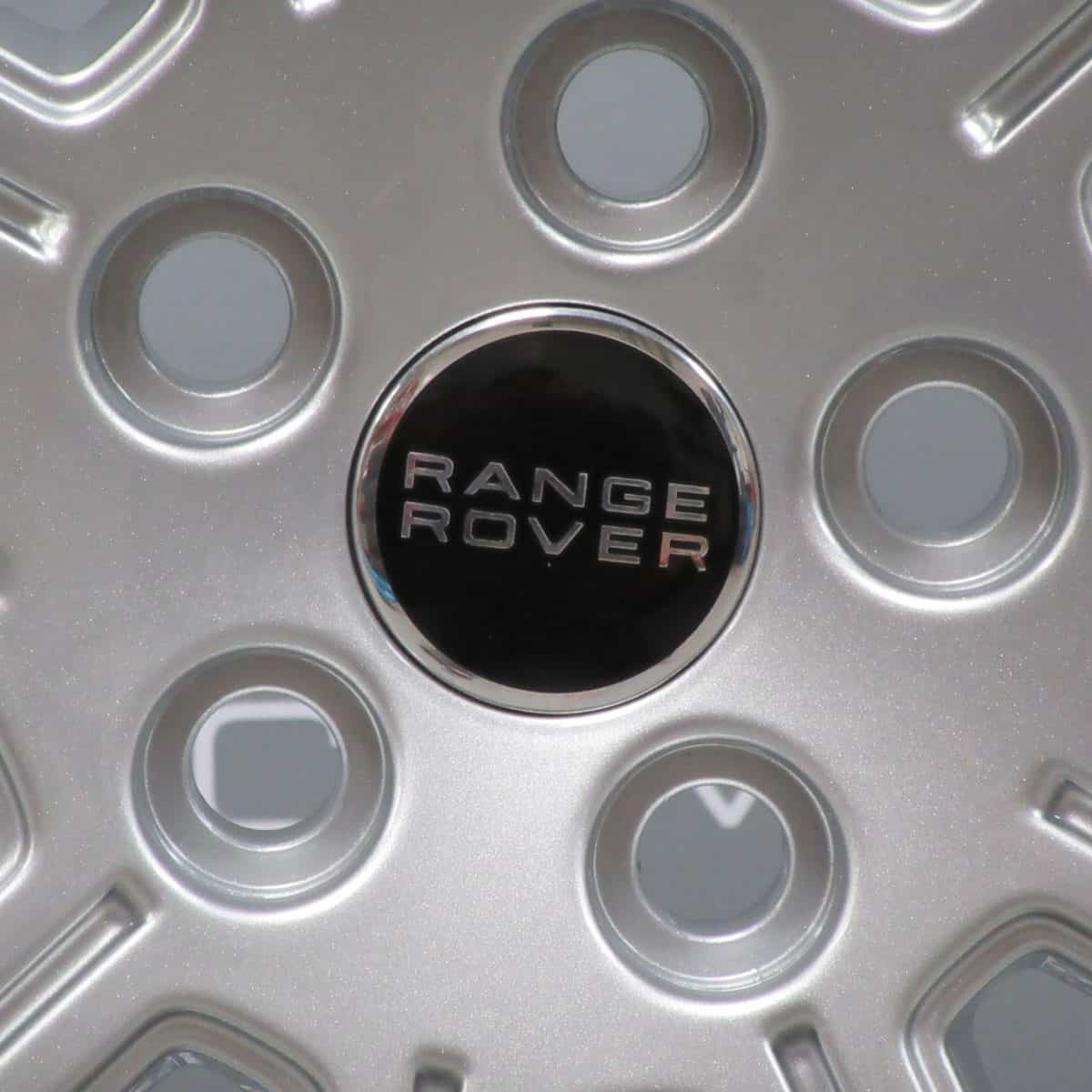 Genuine Land Rover Range Rover L322 Autobiography 10 Spoke 20″ Inch Alloy Wheels with Sparkle Silver Finish LR010666
