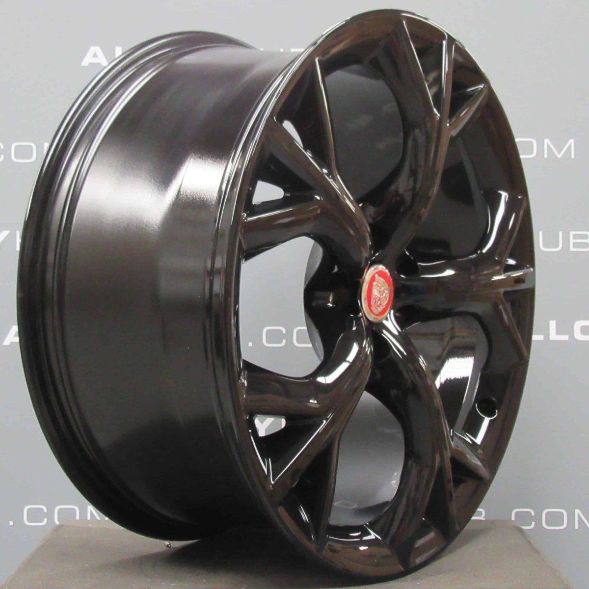 "Jaguar F-Type Storm Style 5040 20"" Gloss Black Alloy Wheel"