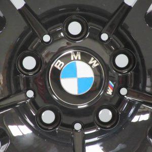 """BMW M3 E46 67M Gloss Black 19"""" 10 Double Spoke Alloy Wheel"""