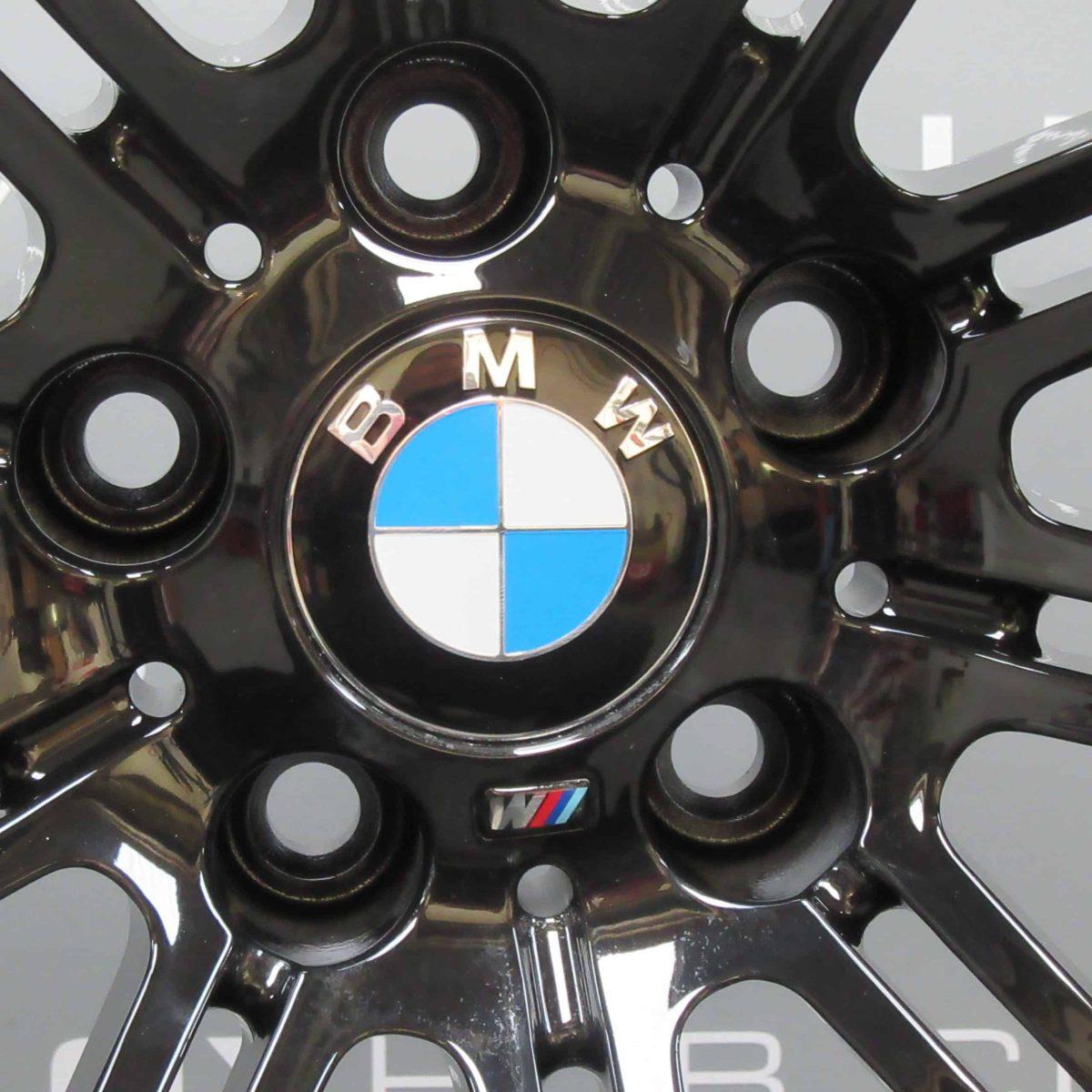 """BMW M3 220M 19"""" 10 Double Spoke Gloss Black Alloy Wheel"""