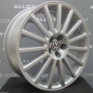 Volkswagen Golf MK4 R32 15 Spoke 18″ Silver Alloy Wheel
