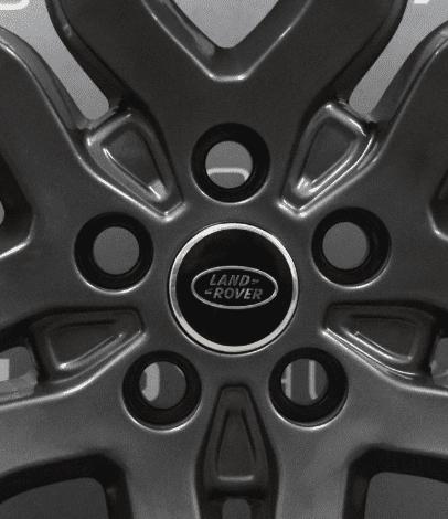 "Genuine Land Rover Range Rover L405 L494 22"" Style 5004 5 Split Spoke Anthracite Grey Alloy Wheels LR037747"