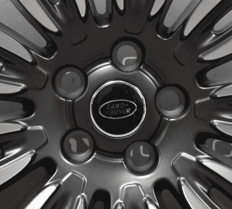 "Genuine Land Rover Range Rover L405 L494 22"" inch Style 9012 9 Split-Spoke Grey/Diamond Turned Alloy Wheels LR099146"