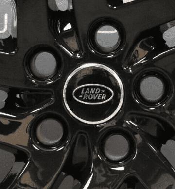 "Genuine Land Rover Discovery 5 Style 5011 5 Split-Spoke 22"" inch Gloss Black Alloy Wheels LR082900"