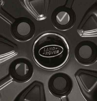 "Genuine Land Rover Range Rover Style 5007 21"" inch 5 Split-Spoke Technical Grey Alloy Wheels LR044850"