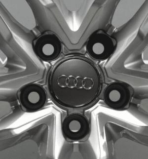 "Genuine Audi R8 V8/V10 5 Twin Spoke 19"" Inch Alloy Wheels with Silver & Diamond Turned Finish 420 601 025, BE 420 601 025 BD"