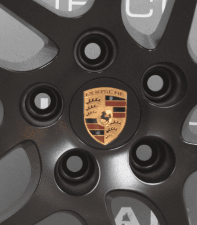 "Genuine Porsche Macan S 18"" Inch 5 Twin-Spoke Alloy Wheels With Satin Black Finish 95B.601.025.AR 95B.601.025.AS"