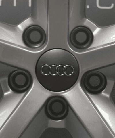 "Genuine Audi MK2 TT 8J 5 Spoke 18"" Inch Alloy Wheels with Silver Finish 8J0 601 025 M"