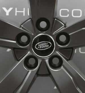 "Genuine Land Rover Range Rover Velar 19"" inch Style 5046 5 Spoke Satin Grey Alloy Wheels LR091545"