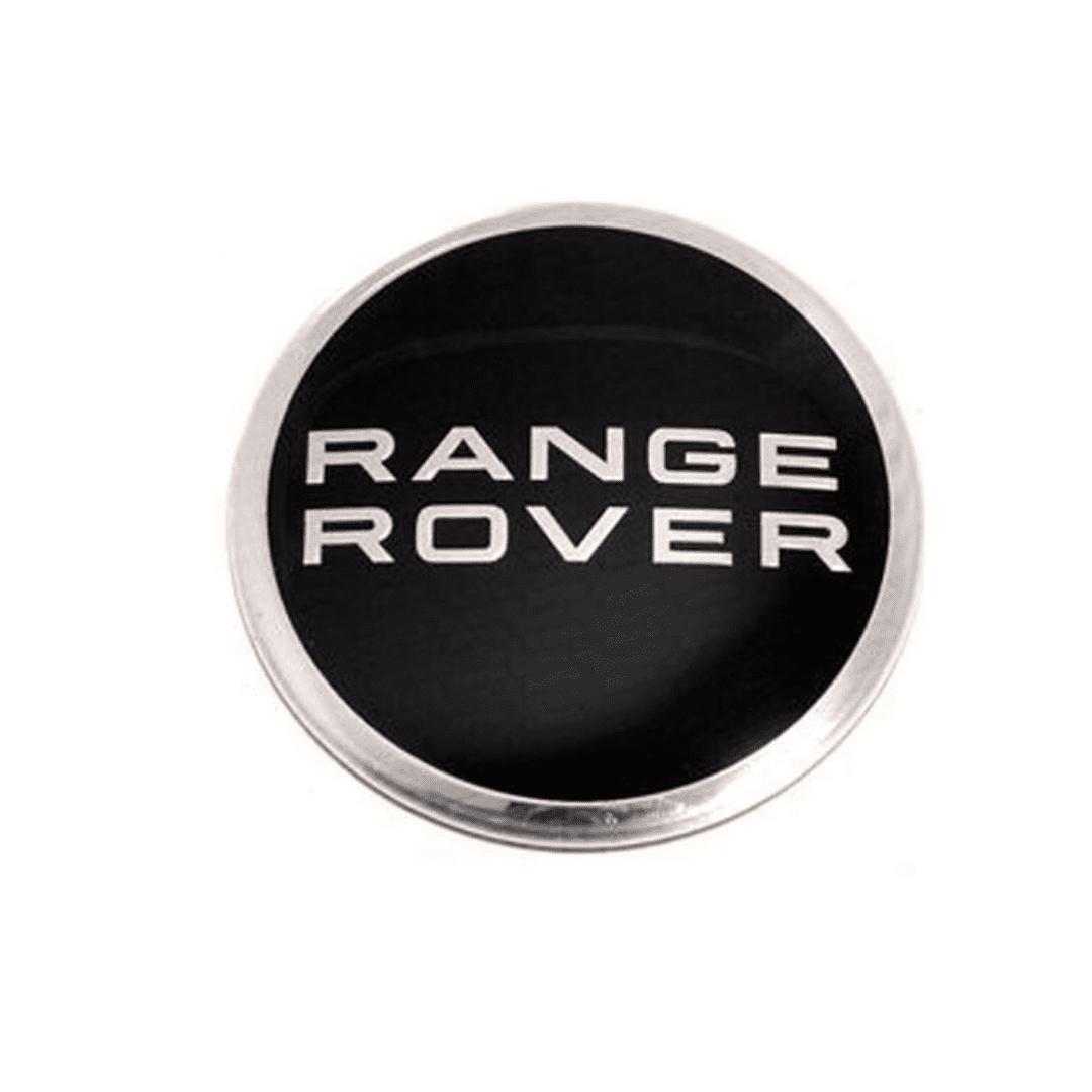 Alloy Wheel Centre Cap for Range Rover with Black & Chrome Finish LR027409