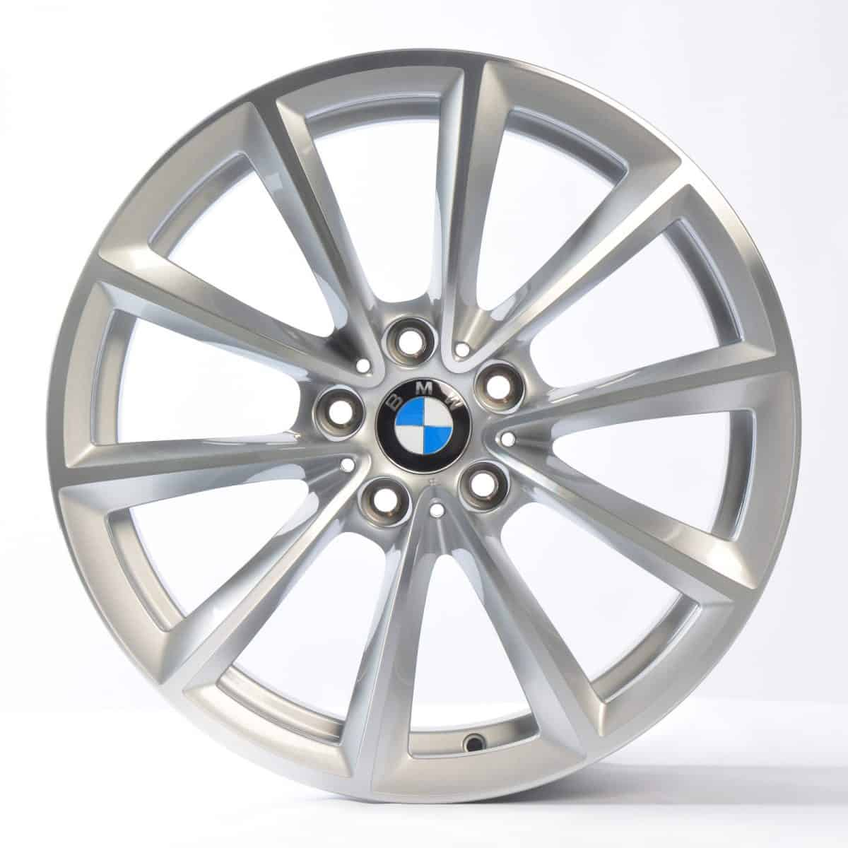 "Genuine BMW Z4 E85 E86 E89 Style 296 19"" inch Alloy Wheels with Silver & Diamond Turned Finish 36116785256 36116785257"