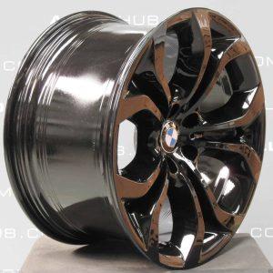 "BMW X6 E71 E72 336 M Sport Performance 20"" Gloss Black Alloy Wheel"