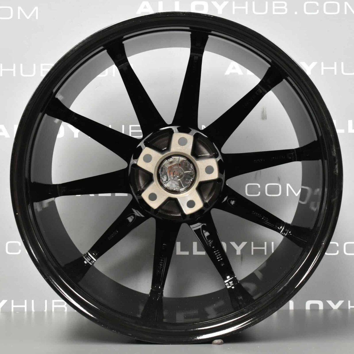 "Genuine Vea Borbet VW Amarok 10 Spoke 20"" Inch Alloy Wheel with Gloss Black Finish"