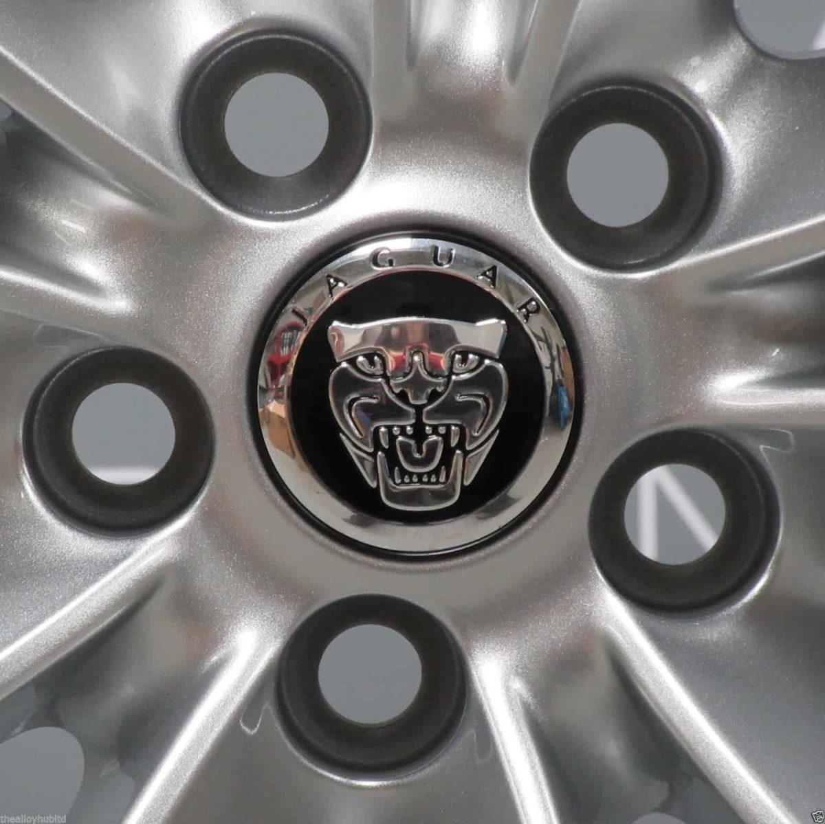 """Jaguar F-Type Aquila 10 Spoke 19"""" Silver Alloy Wheel"""