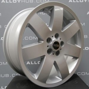 Genuine Land Rover Range Rover L322 7 Spoke 20″ Inch Alloy Wheels with Silver Finish 6751308-13
