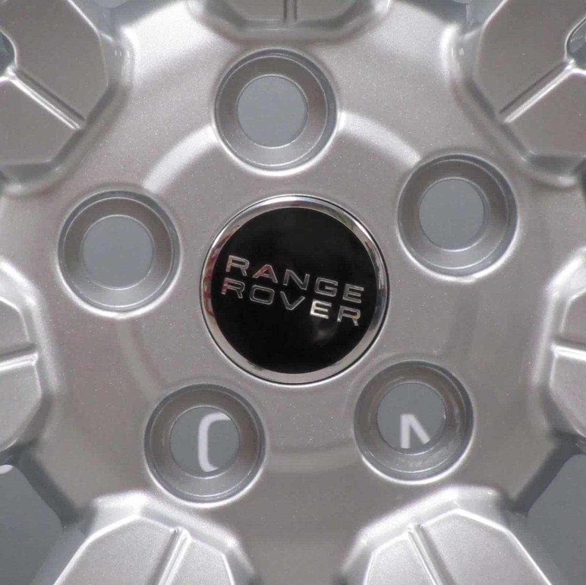 "Genuine Range Rover Range Rover L322 Vogue Autobiography 20"" Inch 7 Split-Spoke Sparkle Silver Alloy Wheels LR043543 9H421007BAW"