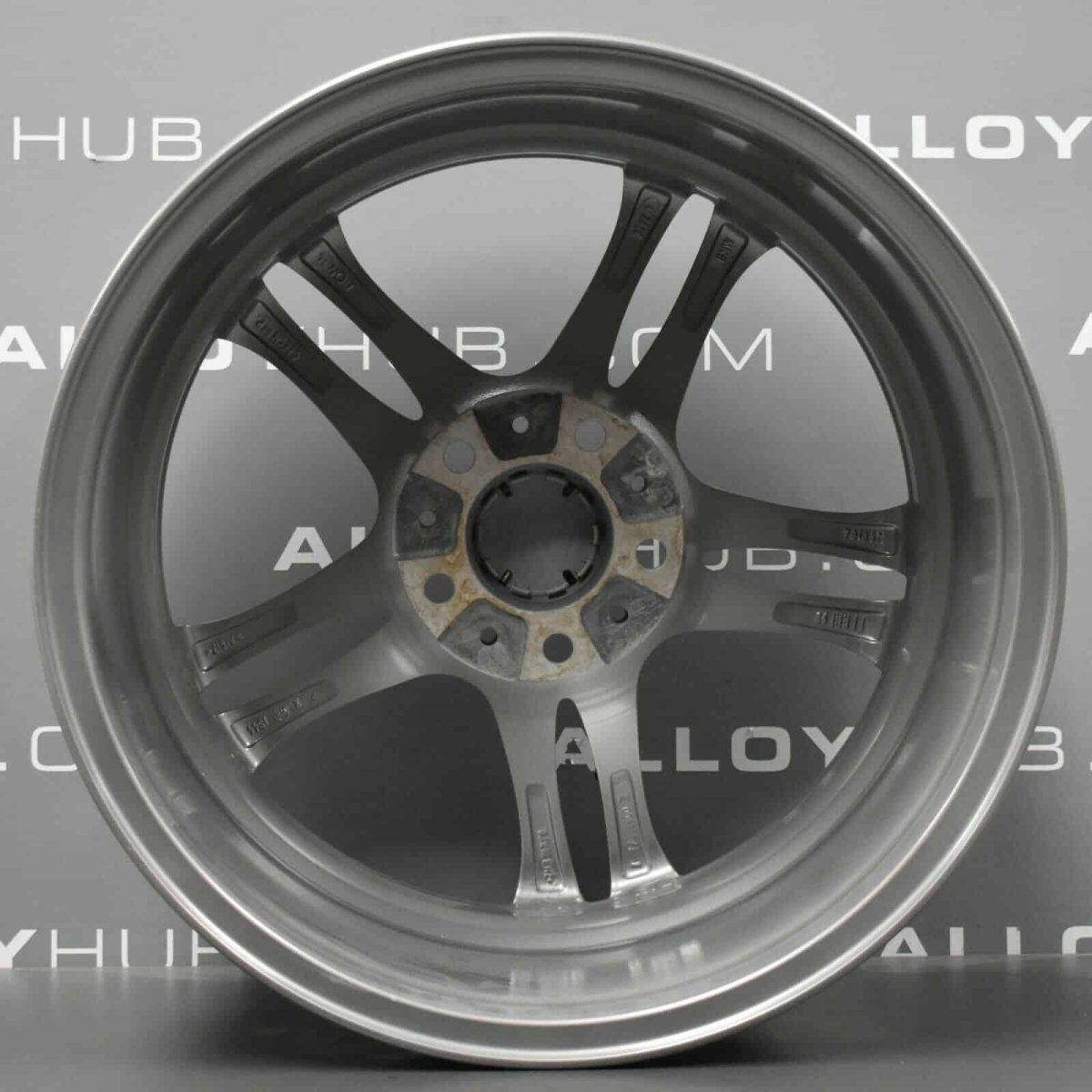 "Genuine BMW 5 Series F10 F11 613M Sport 5 Twin Spoke 18"" inch Alloy Wheels with Ferric Grey Finish 36117848572 36117848573"