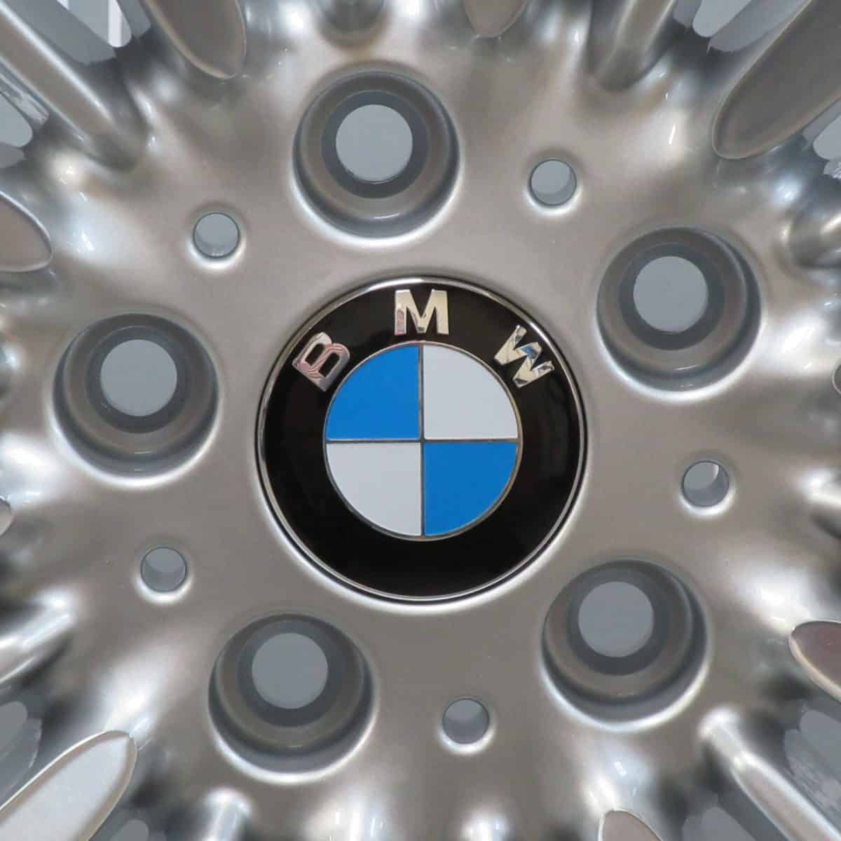 "BMW 3/4 Series 416 18"" Diamond Turned/Silver Alloy Wheel"