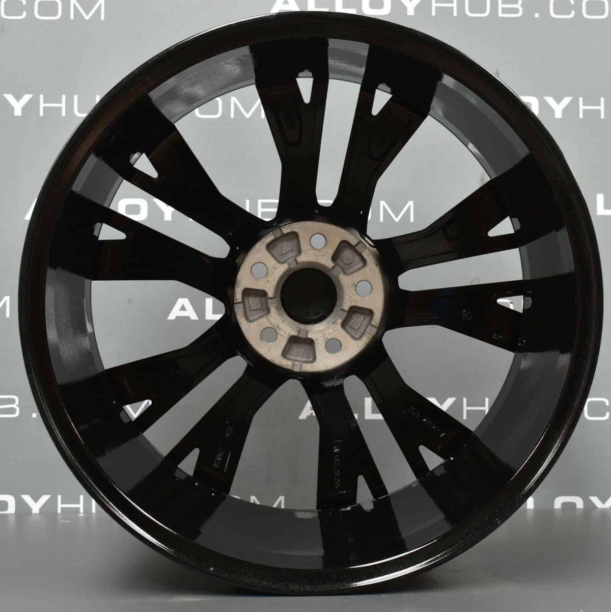 """Volkswagen Golf MK7 GTD Santiago 19"""" Black/Polished Alloy Wheel"""