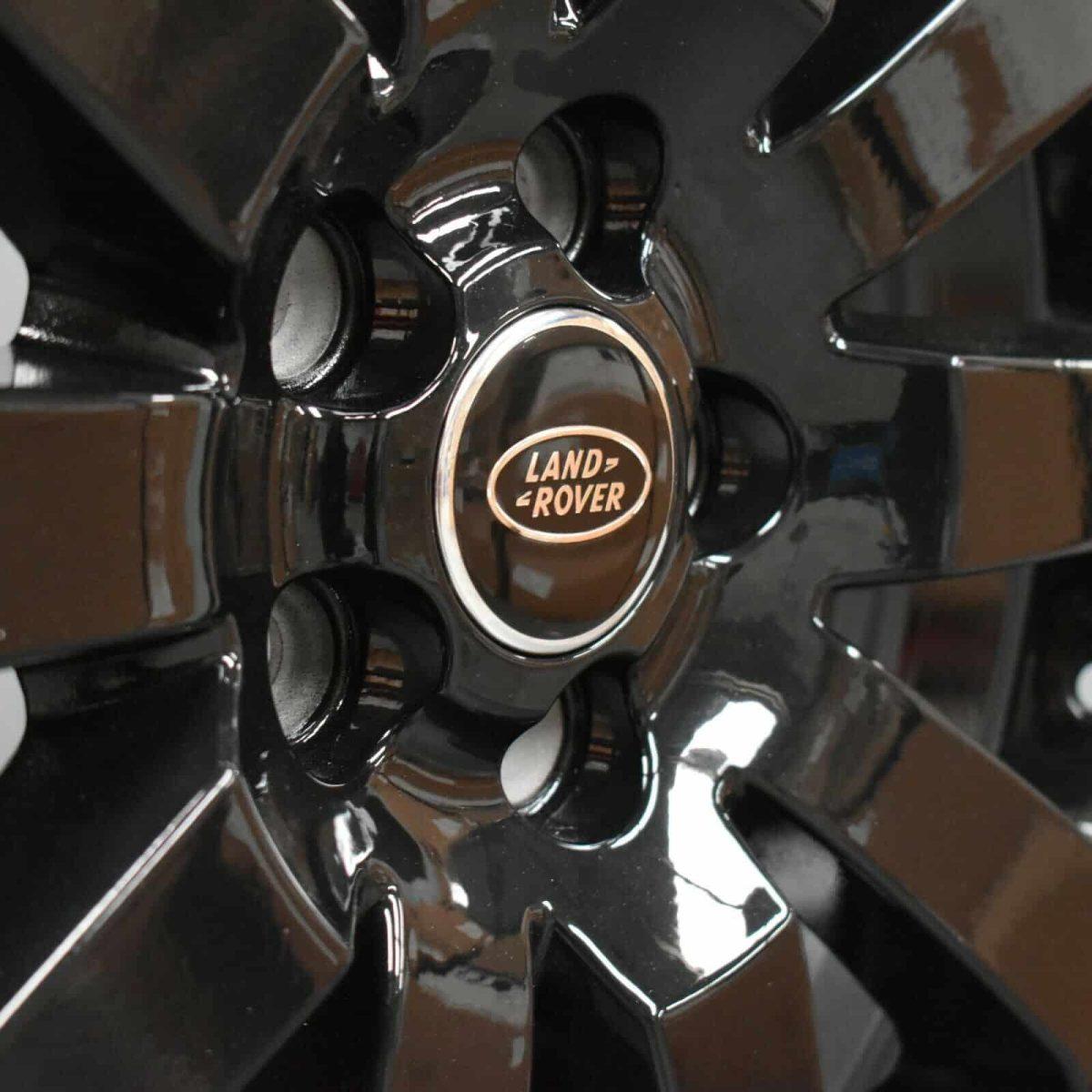 "Genuine Land Rover Freelander 2 HSE 10 Spoke 19"" Inch Alloy Wheels with Gloss Black Finish LR002802"