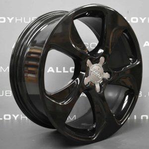"Genuine Audi A3 S3 RS3 8V 5 Twist Spoke 18"" Inch Alloy Wheels With Gloss Black Finish 8V0 601 025 CC"