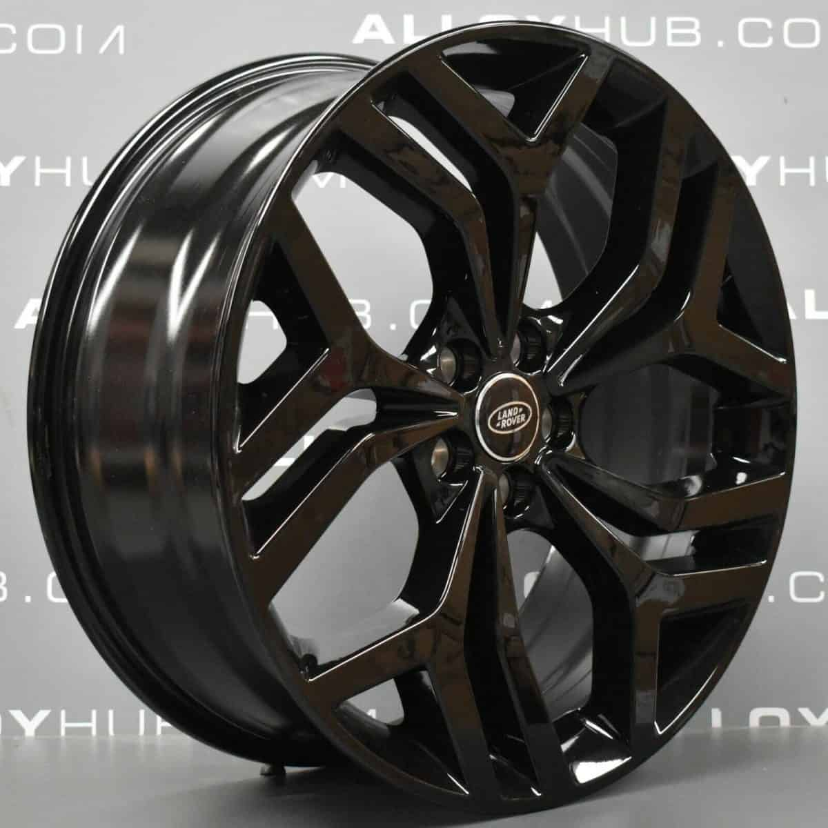 "Genuine Range Rover Evoque 20"" inch Style 5079 5 Split-Spoke Alloy Wheels with Gloss Black Finish LR114528"