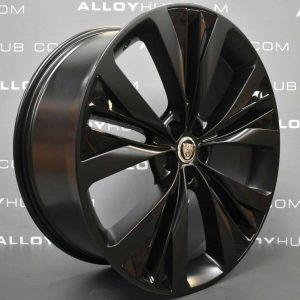 JAGUAR F-Pace Helix 22″ Satin Black / Gloss Black Alloy Wheel