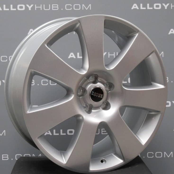 "Genuine Land Rover Range Rover Vogue L405 Sport L494 Style 8 7 Spoke 22"" inch Sparkle Silver Alloy Wheels LR038150"