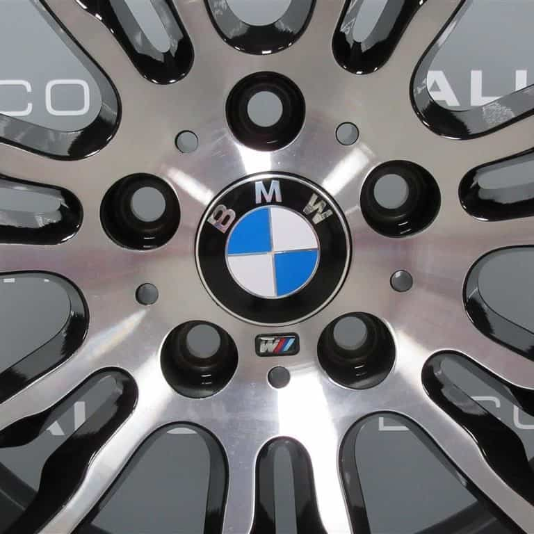 Genuine BMW 3/4 Series Style 403M Sport 19″ Inch Alloy Wheel with Gloss Black & Diamond Turned Finish 36117845882 36117845883