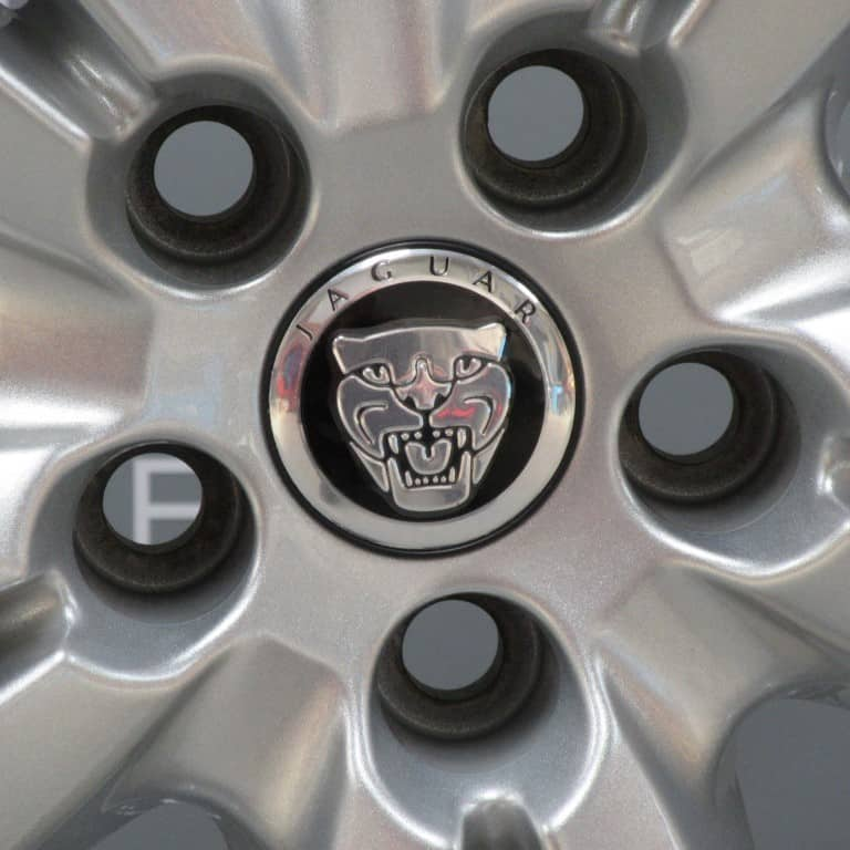 """Genuine Jaguar XK Kalimnos 5 Twin Spoke 20"""" inch Silver Alloy Wheels, 8W83-1007-EA, 8W83-1007-FA"""