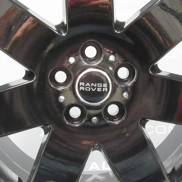 Genuine Land Rover Range Rover L322 7 Spoke 20″ Inch Alloy Wheels with Gloss Black Finish 6751308-13
