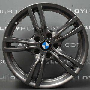 Genuine BMW 3/4 Series 400M Sport 18″ Inch Alloy Wheels with Ferric Grey Finish 36117845880 36117845881