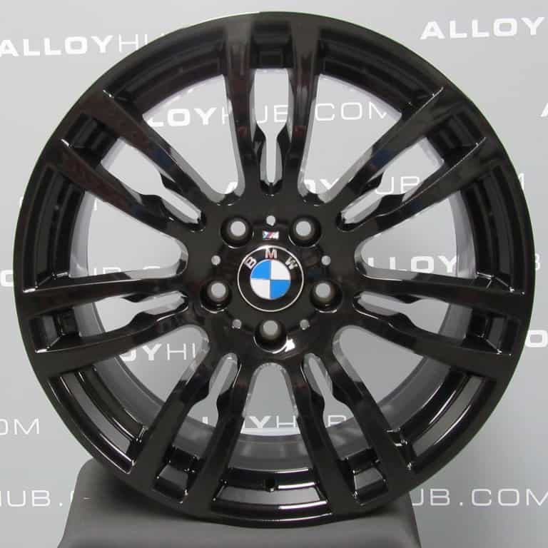 Genuine BMW 3/4 Series Style 403M Sport 19″ Inch Alloy Wheel with Gloss Black Finish 36117845882 36117845883