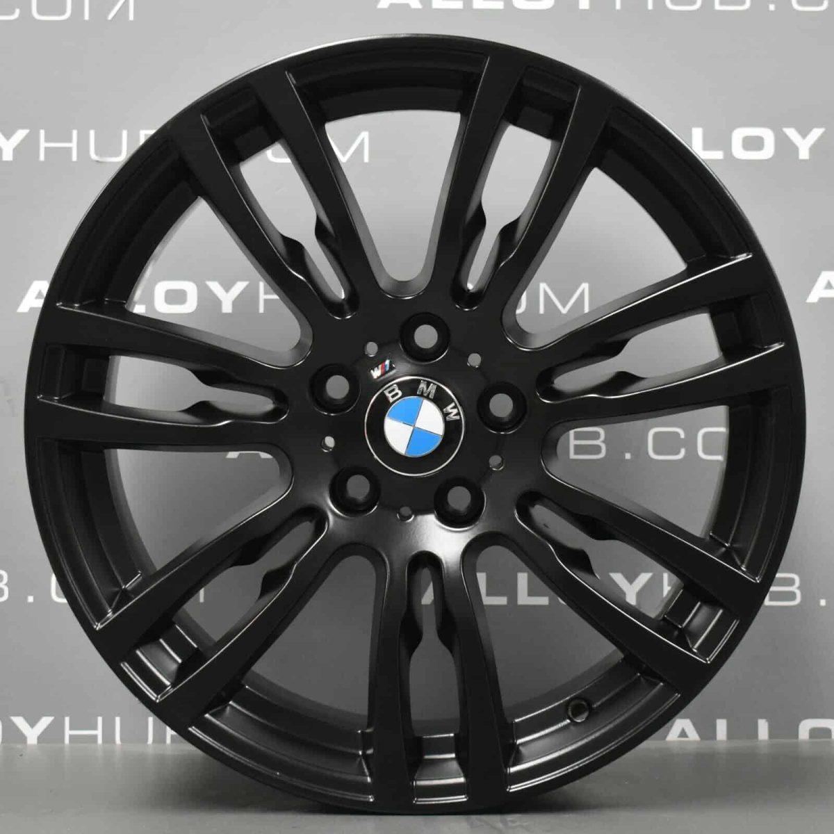 Genuine BMW 3/4 Series Style 403M Sport 19″ Inch Alloy Wheel with Satin Black Finish 36117845882 36117845883