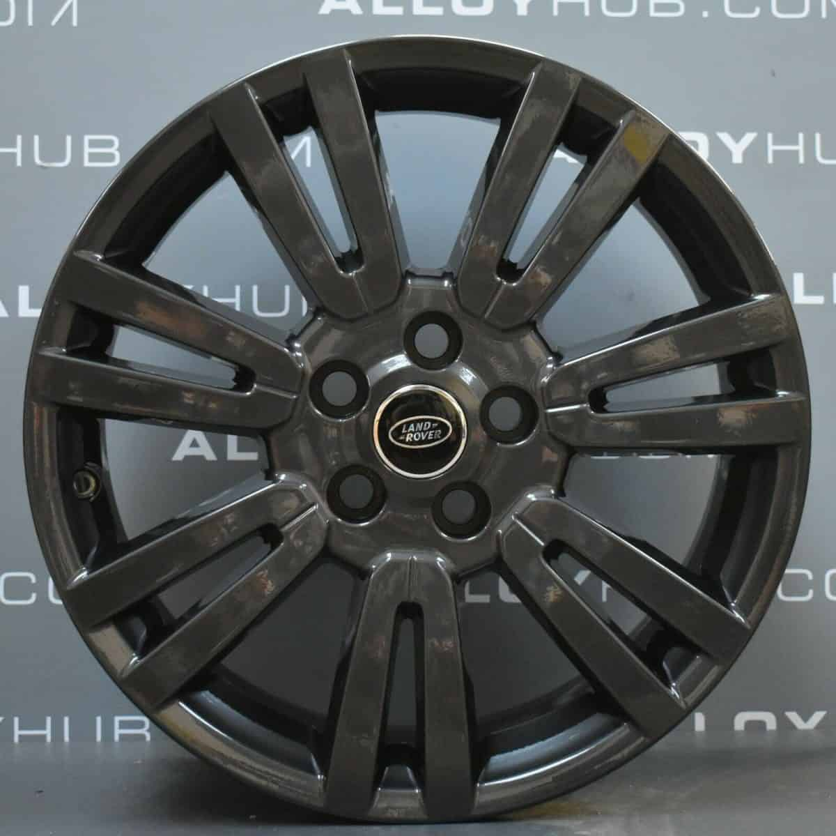 """Genuine Land Rover Discovery 4/3 19"""" Inch 7 Split-Spoke Style 702 with Anthracite Grey Finish Alloy Wheels LR051523"""
