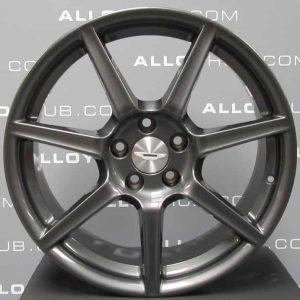 "Genuine Aston Martin Vantage 7 Spoke 19"" Inch Alloy Wheels with Anthracite Grey Finish 6G33-1007-FA, 6G33-1007-FB"