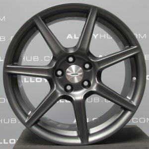 "Genuine Aston Martin Vantage 7 Spoke 19"" Inch Alloy Wheels with Satin Grey Finish 6G33-1007-FA, 6G33-1007-FB"
